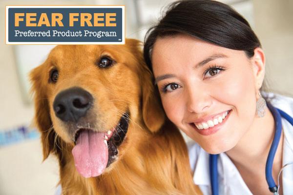 Pet Vet Mat joins the Fear Free Preferred Product Program